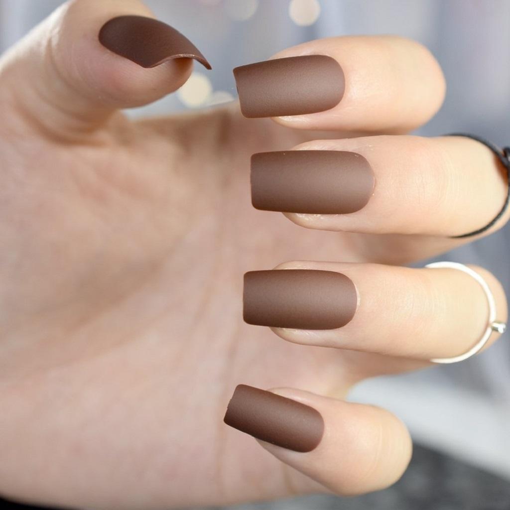 Matte Polished Nails